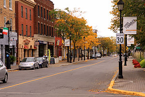 Longueuil - Rue Saint-Charles is the main commercial centre in Old Longueuil.
