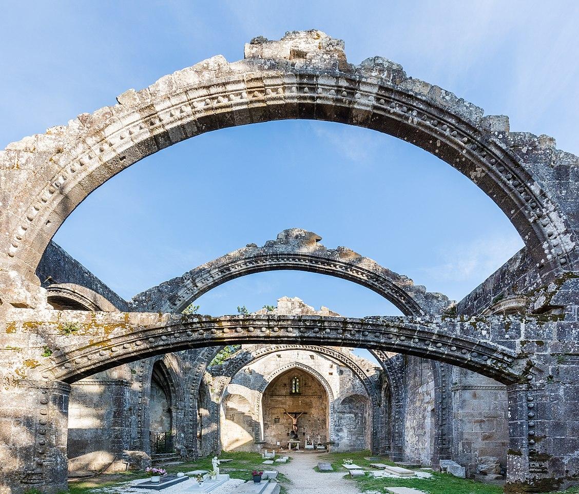 Pontevedra Spain  city photos : Ruinas de Santa Mariña Dozo, Cambados, Pontevedra, España, 2015 ...