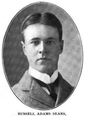 Russell Adams Sears - Image: Russell Adams Sears