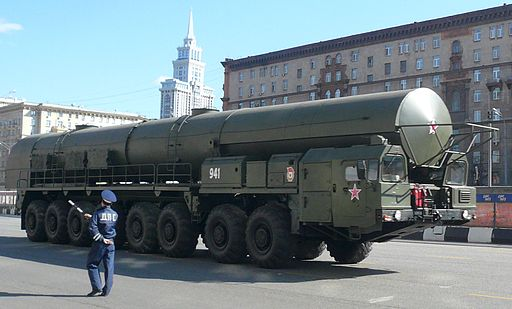 Russian army rocket complex