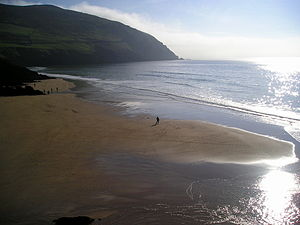 Beach at Slea Head in Ireland where Ryan's Dau...