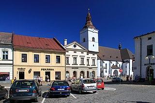 Jablunkov Town in Moravian-Silesian, Czech Republic