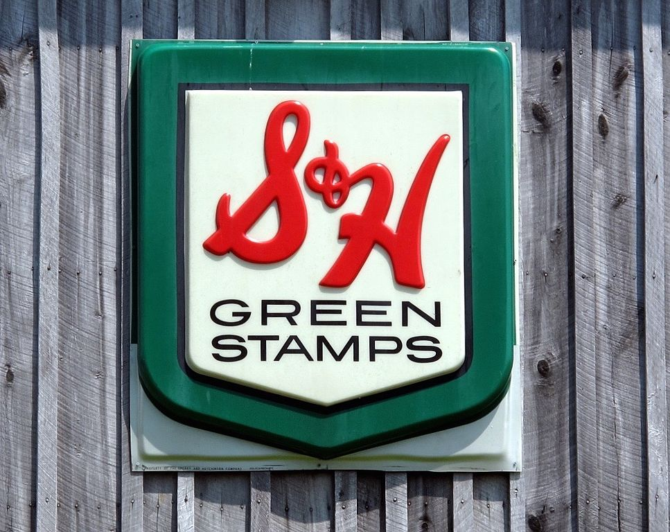 file s h green stamps sign close wikimedia commons. Black Bedroom Furniture Sets. Home Design Ideas