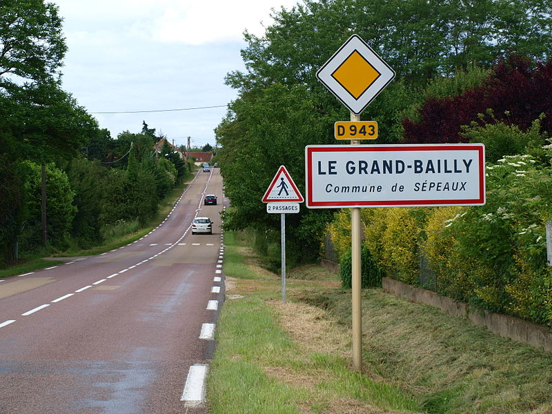 Sépeaux (Yonne, France) , Le Grand-Bailly.