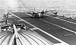 S-2E VS-21 landing on USS Kearsarge (CVS-33) 1969.jpg