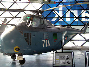 722nd Anti-Armored Helicopter Squadron - Soko S-55 Mk.V of Yugoslav Air Force which served in 783rd Helicopter Squadron from February 1966 to January 1970, now at Belgrade Aviation Museum.