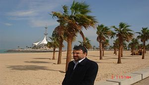 S.M.Hosseini in Sharqia Saoudi Arabia.JPG