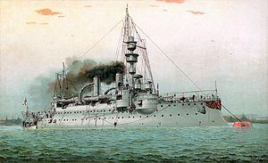 SMS Ägir - Image: S.M. Küstenpanzerschiff Ägir restoration