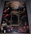 S. agostino, simone pignoni (attr.), s. nicola di tolentino in gloria, xvii sec. 02.JPG