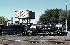 South African type KT tender - Image: SAR Class 16DA 879 Orange River 130479