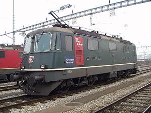 SBB-CFF-FFS Re 420 - Image: SBB Re 11160