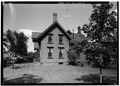 SIDE (SOUTH) ELEVATION - Joseph Walker Cottage, 278 North Main Street, Concord, Merrimack County, NH HABS NH,7-CON,6-2.tif