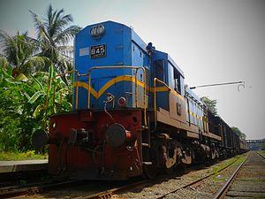 Mahawa, Sri Lanka - Maho junction railway station