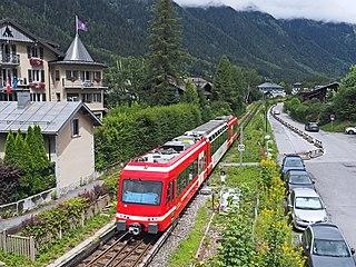 Saint-Gervais–Vallorcine railway