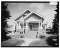 SOUTH FRONT - Leopold David House, 605 West Second Avenue, Anchorage, Anchorage, AK HABS AK,2-ANCH,11-1.tif
