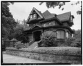 SOUTH FRONT and EAST SIDE - Governor Brady Mansion, 140 Main Street, Boise, Ada County, ID HABS ID,1-BOISE,9-1.tif