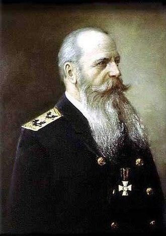 Admiral Makarov National University of Shipbuilding - Portrait of Stepan Makarov.