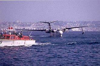 Martin P5M Marlin - A VP-40 SP-5B after the last operational U.S. Navy flight of a Marlin in 1967
