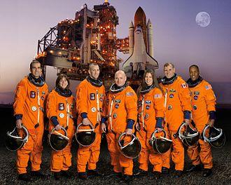 Scott Kelly (astronaut) - The crew of STS-118. (2007)