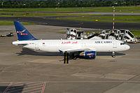SU-BPU - A320 - Air Cairo