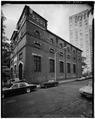 SUB-STATION NUMBER 17. WEST FACADE. - Interborough Rapid Transit Subway (Original Line), New York, New York County, NY HAER NY,31-NEYO,86-64.tif