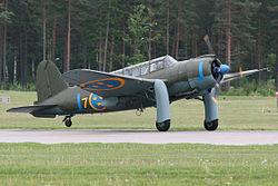 Saab B17A 17239 J Blue (SE-BYH) (8370648777).   jpg