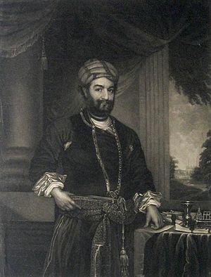 Oudh State - Nawab Saadat Ali Khan II.
