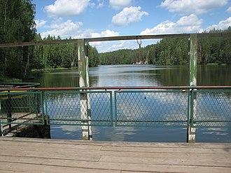 Kiidjärve - Image: Saesaare paisjärv 1