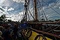 Sail Amsterdam - De Ruyterkade - View WNW on Frigate Shtandart 1703 - Replica 1999 the first ship of Czar Peter I's Baltic Fleet II.jpg