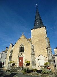 Saint-Cosme-en-Vairais - Contres - Eglise Saint-Augustin.JPG