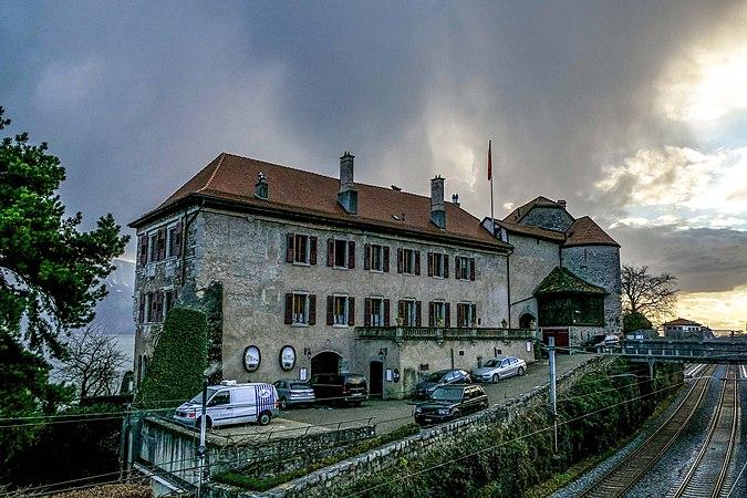 Saint-Saphorin, château de Glérolles 07.jpg