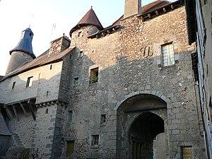 Saint-Benoît-du-Sault - 14th-century portal