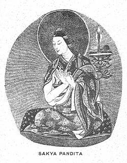 Sakya Pandita Tibetan Lama
