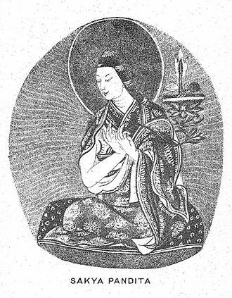 Sakya - Sakya Pandita