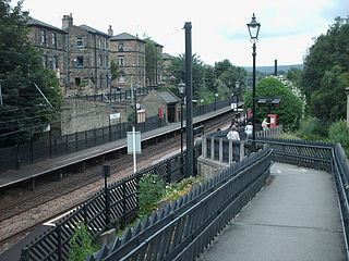 Saltaire railway station Railway station in West Yorkshire, England