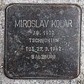 Salzburg - Elisabeth-Vorstadt - Südtirolerplatz Stolpersteine Hauptbahnhof - Miroslav Kolar.jpg