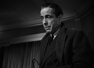 Garfield's Babes and Bullets - Humphrey Bogart as Sam Spade, the inspiration for the Garfield character.