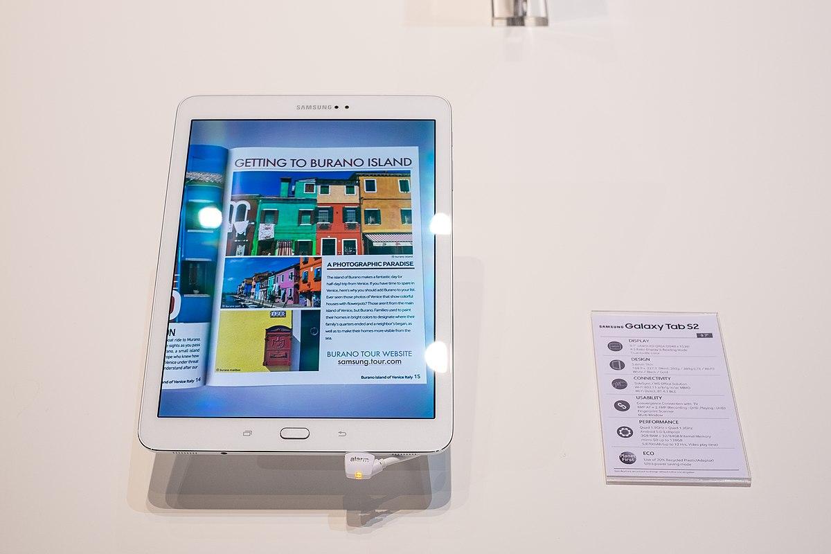 Samsung Galaxy Tab S2 – Wikipedia