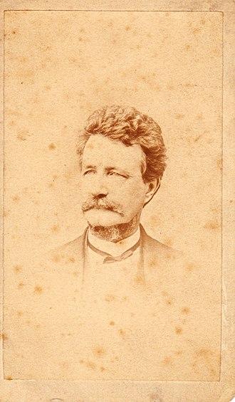 Samuel Bard (politician) - Photo by Mathew Brady's National Photographic Portrait Galleries. Circa 1865.