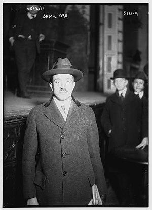 Samuel Orr - Image: Samuel Orr in 1920