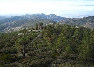 San Benito Mountain mountain in United States of America