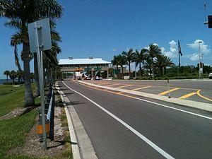 Sanibel Causeway - The Toll Plaza