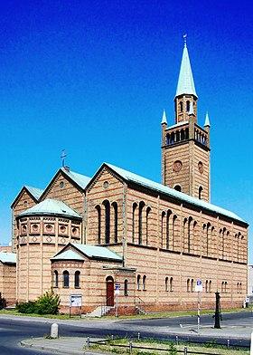 Церковь святого матфея тиргартен