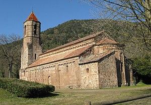 Garrotxa - Romanesque monastery of Sant Joan les Fonts