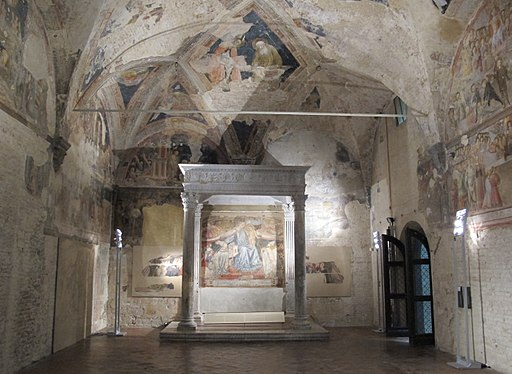 Santa Maria della Scala, Cappella del Sacro Chiodo o Sagrestia Vecchia