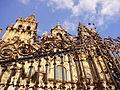 Santiago de Compostela and the gate.JPG