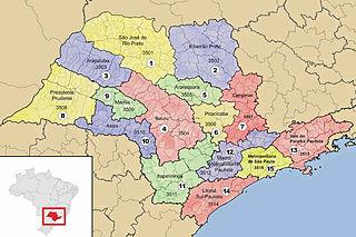 Subdivisions of São Paulo (state)