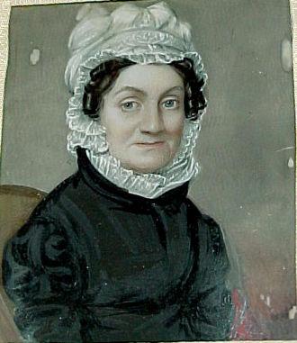 Sarah Pierce - Sarah Pierce painted by George Catlin