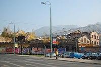 Sarajevo Tram-Line Hiseta 2011-10-31 (3).jpg