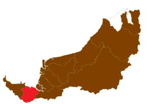 Samarahan Division - Image: Sarawaksamarahan